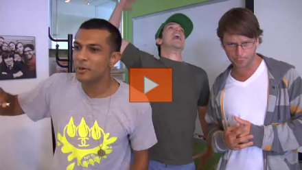 College Humor - Hardly Working: Freestyling Interns (Part Two): Video