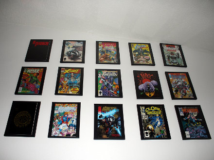 Comic Book Wall 15