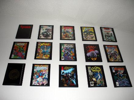 Comic Book Wall 15