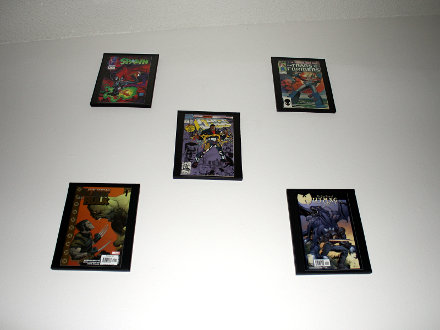 Comic Book Frame Wall 5