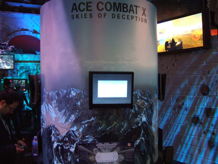 Ace Combat X: Skies Of Deception (PSP)