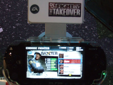 Def Jam Fight For NY The Takeover (PSP)