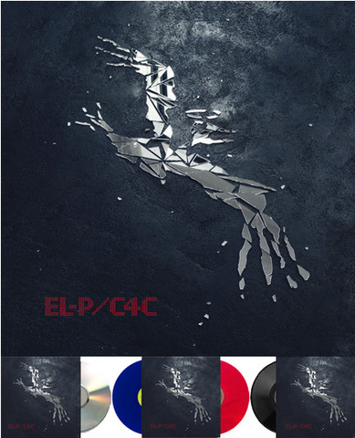 El-P - Cure for Cure: Album Art