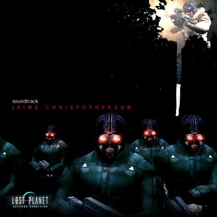 Jaime Christopherson - Lost Planet Soundtrack: Album Art