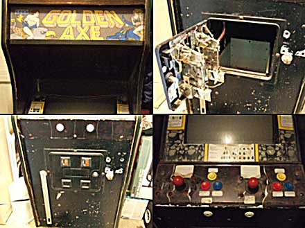 Old Golden Axe Arcade