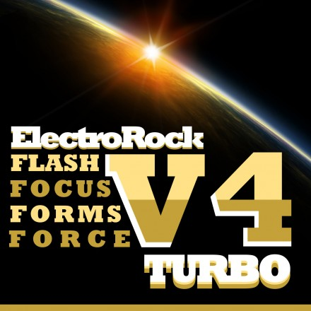 Turbo - ElectroRock v.4 Album Art